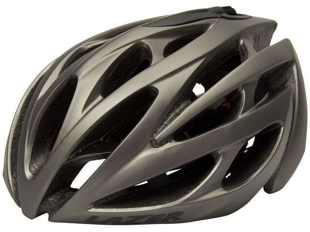 Lazer O2 Helmet mat titanium